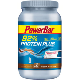 PowerBar Protein Plus 92% Sports Nutrition Chocolate 600 g yellow/blue